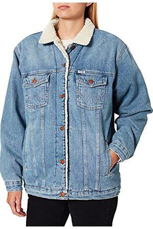 Wrangler Heritage Sherpa Denim Jacket voor dames
