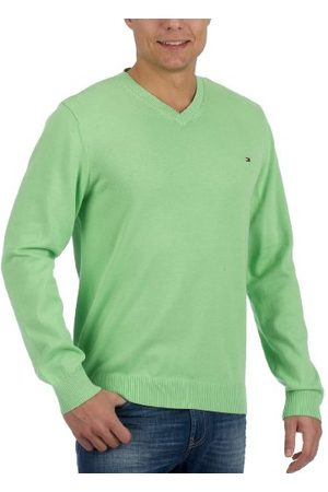 Tommy Hilfiger Pacific V-NK 850334434 Herentrui, (Picnic Lime), 52