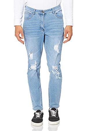 STUDIO UNTOLD Dames Destroyeffekten-Plus Size Skinny Jeans