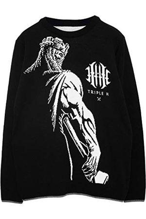 Popgear WWE Triple H King Of Kings Heren gebreide trui 2XL | Wrestlemania Kerstmis Jumper Ugly Idee Sweater Xmas Gift For Men