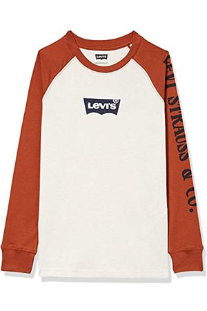 Levi's Kids Lvb Long SLV T-shirt met wafel