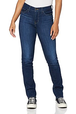 Levi's Dames Straight - Dames 314 Shaping Straight Jeans, Cobalt Honor, 32W x 34L