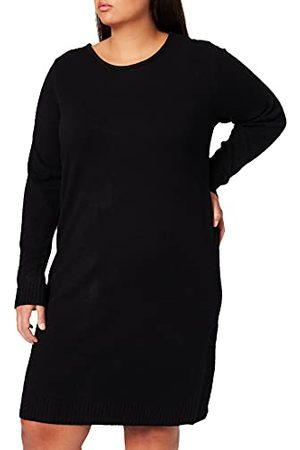 VILA Dames Viril L/S Knit Dress Noos Jurk, , XXL