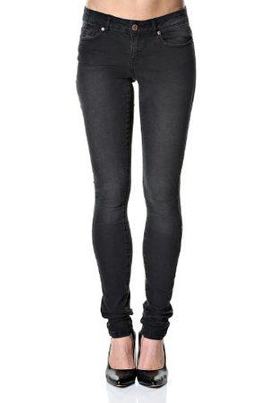 Noisy May Dames skinny jeanbroek Eve Lw Super Slim Jeans Black Gu501 - nm