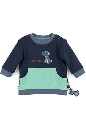 sigikid Baby-jongens omkeerbaar shirt trui
