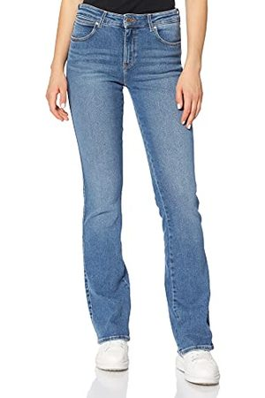 Wrangler Bootcut Jeans voor dames, (canblue 10R), 27W x 30L