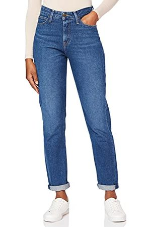 Lee Dames Mom Straight Jeans