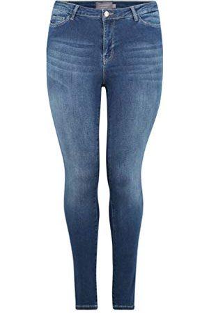 JUNAROSE Dames Jrfive Shape Nw Med. Blue K Noos Slim Jeans