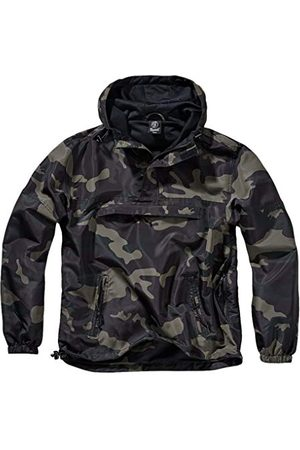 Brandit Heren Regenkleding - Summer Windbreaker, regenjas, anorak, trainingsjas, maat S tot 5XL, camouflage (dark camo), L