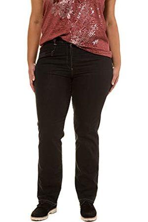 Ulla Popken Mony N Straight Jeans Stretch Jeans voor dames, grote maten, ( 11), 64 NL