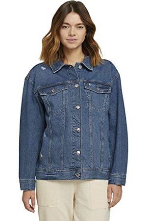 TOM TAILOR Basic jeansjas voor dames