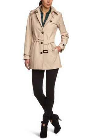 Tommy Hilfiger Dames trenchcoat mantel HERITAGE SHORT TRENCH, (236 pumice), 40