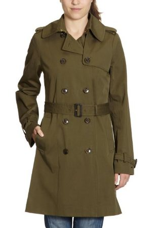 Tommy Hilfiger Dames Trench Coat 1M87603103 / New Classic Trench, (Hampton Olive), 42