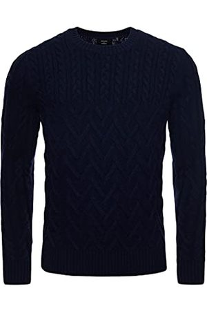 Superdry Heren Studio Cable Knit Jumper Sweater Sweater