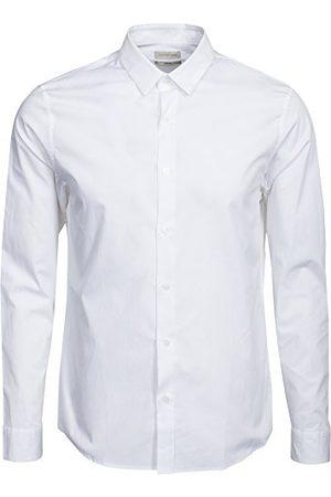 Calvin Klein Wilbert Shirt, L/S - businesshemd - normale maat - klassieke kraag - lange mouwen - heren - - 41