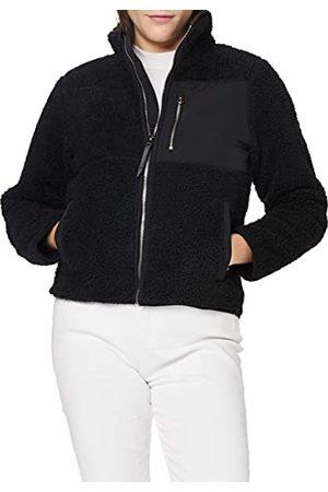 Superdry Dames Storm Panel Borg Zip Through Cardigan Sweater