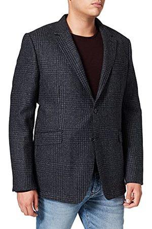 Hackett Heren SHETLAND GCHK Zipout Jacket, 5CYNAVY/ , 50