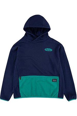 Levi's Kids Lvb Nylon Pullover Hoodie Sweatshirt met capuchon voor jongens
