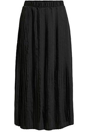 VILA Dames Visylla Plisse Hw Midi Skirt/Su Rock, , 36