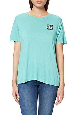 Lee T-shirt voor dames met relaxte pasvorm