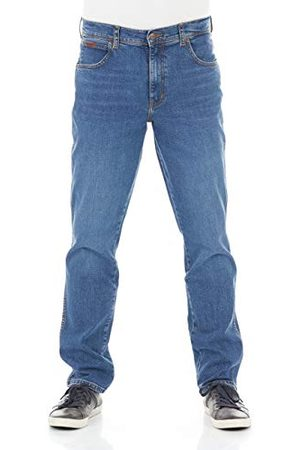 Wrangler Texas Slim Jeans voor heren, (Game On E), 36W x 34L