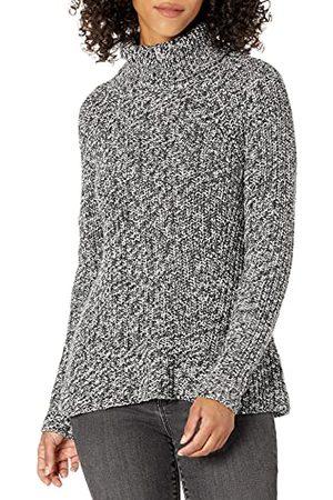 Goodthreads Katoen Half-Vest Stitch Coltrui Trui Trui, Houtskool Marl, XL