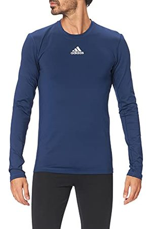 adidas Heren Techfit Long Sleeve Warm Top T-shirt