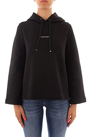 Calvin Klein Dames Mini Hoodie Hooded Sweatshirt
