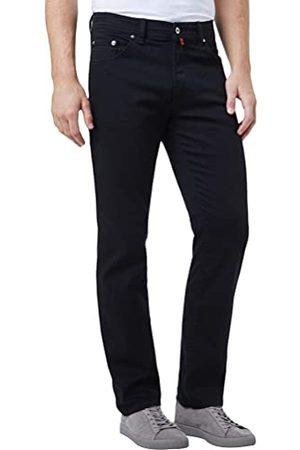 Pierre Cardin Dijon Loose Fit jeans voor heren, (Stone Washed Black 05), 32W x 34L