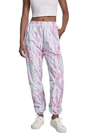 Urban Classics Dames Sport Ladies Tie Dye Track Pants Klassieke broek