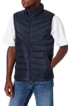 TOM TAILOR Lichtgewicht gewatteerd vest voor heren, 10668 - Sky Captain Blue, XL