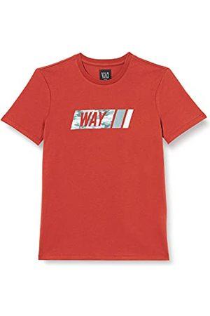 IKKS T-shirt, korte mouwen, terracotta, jongens.