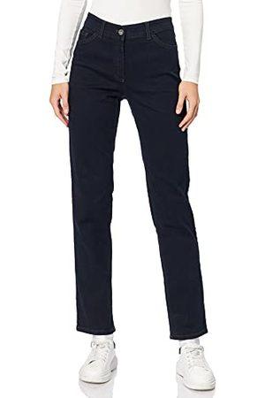 Gerry Weber Gerry Weber Dames 5-pocket jeans straight fit klassieke pasvorm, (Dark Blue Denim 86800), 38 NL