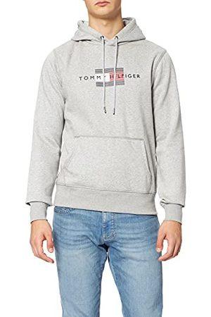 Tommy Hilfiger Heren Lines Hilfiger Hoody Hooded Sweatshirt