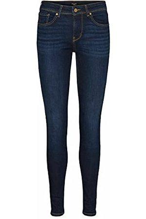 VERO MODA VMLUX MR Slim RI347 GA NOOS Jeans, Dark Blue Denim, XL/34