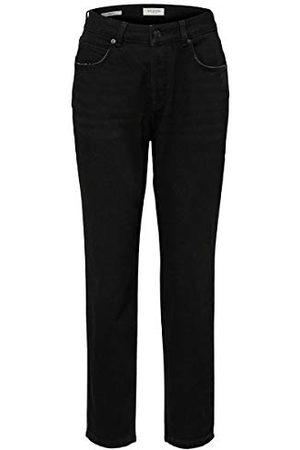 Selected Femme Dames Slffrida Hw Mom Lash Black W Noos Straight Jeans