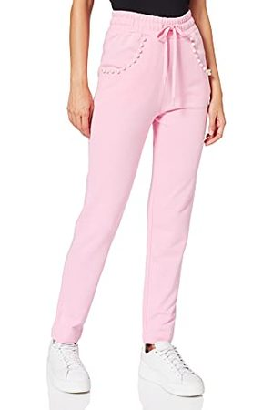 Moschino Love Womens Casual Pants, PINK, 40