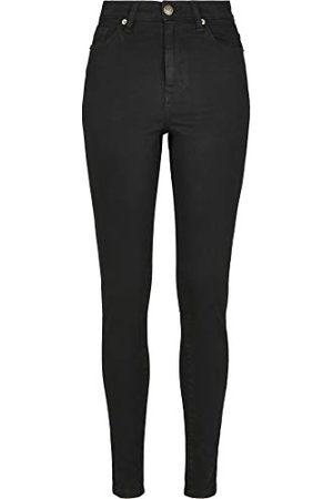Urban Classics Dames Dames High Waist Skinny Broek Jeans