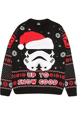 Popgear Star Wars Stormtrooper Tot Sneeuw Goed XS   Jumper Ugly Sweater Fair Kerstmis Isle Xmas Gift Ideas Damesmode
