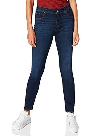 VERO MODA VMLUX MR Slim RI347 GA NOOS Jeans, Dark Blue Denim, L/30