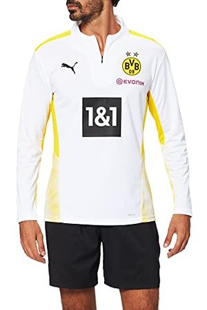 PUMA Heren Bvb Training 14 Zip Top W Sponsor Shirt