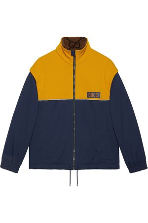 Gucci Heren Jacks - Technical jersey jacket with detachable sleeves