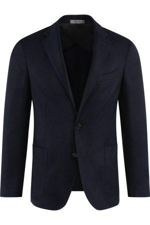 corneliani Heren Wollen jassen - Colbert Heren Navy Wool