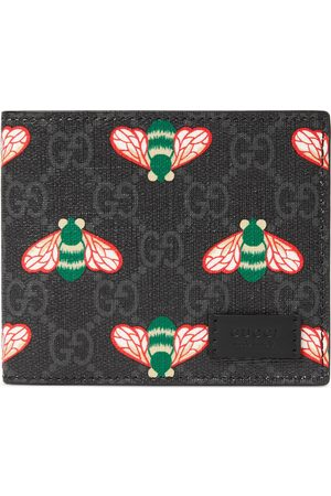Gucci Heren Portemonnees - Bestiary wallet with bees