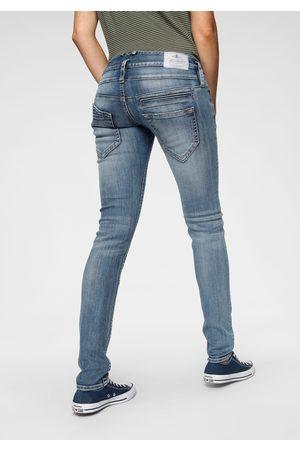 Herrlicher Skinny jeans PITCH SLIM REUSED DENIM Low waist met licht push-upeffect