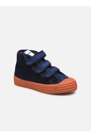 Novesta Jongens Sneakers - Star Dribble Kid Velcro Corduroy by