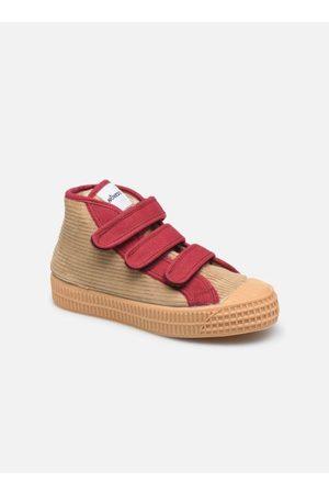 Novesta Sneakers - Star Dribble Kid Velcro Corduroy Winter by