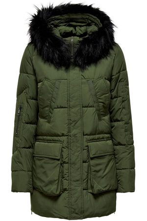 ONLY Quilted Parka Dames Green