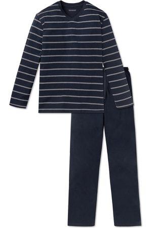 Schiesser Pyjama Blauw 159622