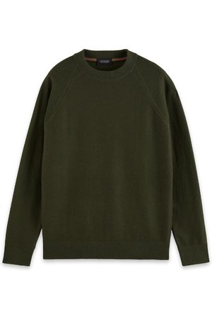 Scotch&Soda Truien Structure-knitted raglan sleeve pullover contains Wool